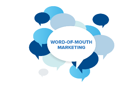 """Word of mouth"" - best marketing"